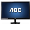 Alternate view 2 for AOC 22&quot; Wide 1920x1080 LED Monitor, 5ms, VGA, DVI