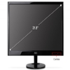 Alternate view 4 for AOC 22&quot; Wide 1920x1080 LED Monitor, 5ms, VGA, DVI