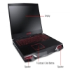 "Alternate view 6 for Alienware 18.4"" 2nd Gen Core i7 750GB HDD Notebook"