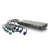 Alternate view 2 for Iogear GCS1808KITU 8-Port USB PS/2 Combo VGA KVM S