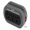 Alternate view 2 for RCA Travel Charger with Surge Protection