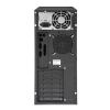 Alternate view 2 for XION ATX  Red LED Mid Tower Case w/ 500W PSU