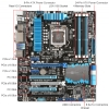 Alternate view 5 for ASUS P8Z77-V PRO Intel 7 Series Motherboard