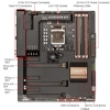 Alternate view 4 for ASUS SABERTOOTH Z77 Intel Series 7 Motherboard