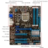Alternate view 4 for ASUS P8Z77-V LX and Intel Core i5-3570K Bundle