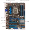 Alternate view 4 for ASUS P8H77-V LE Intel 7 Series Motherboard