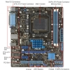 Alternate view 4 for ASUS M5A78L-M LX PLUS AMD 760G AM3+ Motherboard