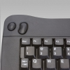 Alternate view 6 for Adesso Mini USB Keyboard With Trackball (Black)