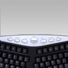 Alternate view 6 for Adesso PS/2 Ergonomic Keyboard