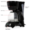 Alternate view 3 for Brentwood TS-214 4-Cup Coffeemaker