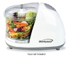 Alternate view 2 for Brentwood MC-101 White Mini Food Chopper