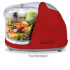 Alternate view 2 for Brentwood MC-105 Red Mini Food Chopper