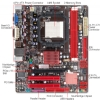 Alternate view 3 for BIOSTAR A780L3G AMD 780L Socket AM3 Motherboard