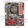 Alternate view 5 for BIOSTAR TZ77B Intel 7 Series Motherboard