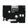 "Alternate view 2 for Brother TZe325 3/8"" (0.35"") White/Black Tape (26.2"