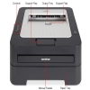Alternate view 5 for Brother HL2230 Mono Laser Printer Refurb