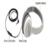 Alternate view 3 for Bose� 346019-0030 OE2i Audio Headphones White