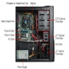 Alternate view 7 for CybertronPC Core i5 500GB HDD Gaming PC
