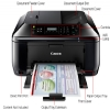 Alternate view 4 for Canon PIXMA MX432 WiFi Office All-In-One 
