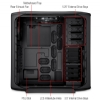 Alternate view 6 for Corsair Graphite Series 600T Mid Case w/ Mesh Side