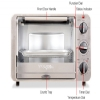 Alternate view 6 for Waring Pro Stainless Steel Convection Toaster Oven