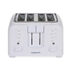 Alternate view 5 for Cuisinart Electronic 4-Slice White Toaster