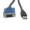 Alternate view 4 for Cables To Go 10-Foot USB 2.0 SXGA KVM Cable
