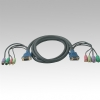 Alternate view 2 for Cables To Go 10-Foot 5-In-1 Desktop Extension KVM