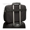 Alternate view 5 for Case Logic PNC-218BLACK Laptop Briefcase
