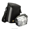 Alternate view 3 for Case Logic Compact Black Camcorder Camera Case