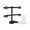 Alternate view 3 for Chief KTP445B Widescreen Quad Monitor Table Stand