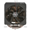 Alternate view 6 for Cooler Master V6 GT Multi-Socket CPU Cooler