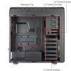 Alternate view 6 for CoolerMaster HAF XM Mid Tower Case 2x USB 3.0