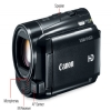 Alternate view 4 for Canon 6096B001 VIXIA HF M500 Full HD Camcorder