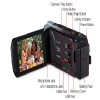 Alternate view 5 for Canon VIXIA HF R30 Full HD Digital Camcorder