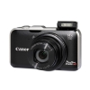 Alternate view 4 for Canon SX230 HS Black 12MP Digital Camera