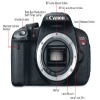 Alternate view 4 for Canon EOS Rebel T4i DSLR Camera with 18-55mm Lens