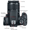Alternate view 6 for Canon EOS Rebel T4i DSLR Camera with 18-55mm Lens