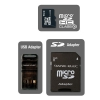 Alternate view 2 for Dane-Elec DA-3IN1C1016G-R 16GB Micro SDHC Card