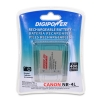 Alternate view 2 for Digipower BP-CN4L Replacement Li-Ion Battery for C