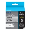 "Alternate view 4 for Epson LabelWorks Clear LC 1/2""Black Tape Cartridge"