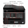 Alternate view 6 for Epson WorkForce 545 WiFi All-In-One Printer