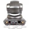 "Alternate view 6 for Edimax Wireless 11"" Motorized Internet IP Camera"