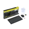 Alternate view 3 for GearHead Mini Wireless Desktop with Optical Mouse