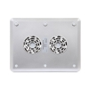 Alternate view 6 for Gear Head Dual-Cool Notebook Cooling Pad Silver