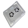 Alternate view 7 for Gear Head Dual-Cool Notebook Cooling Pad Silver