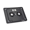 Alternate view 2 for Gear Head Dual-Cool Notebook Cooling Pad Black