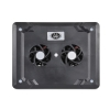 Alternate view 5 for Gear Head Dual-Cool Notebook Cooling Pad Black
