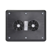 Alternate view 6 for Gear Head Dual-Cool Notebook Cooling Pad Black