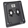Alternate view 7 for Gear Head Dual-Cool Notebook Cooling Pad Black